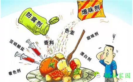 食品添加剂好处害处图片